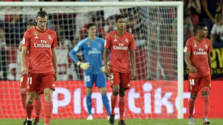 El 1x1 de la derrota del Real Madrid contra el Sevilla