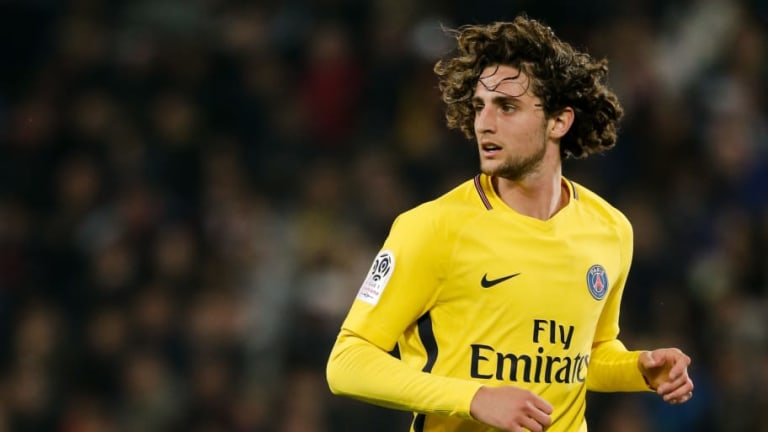 PSG Midfielder Adrien Rabiot Open to Moving This Summer 'With Arsenal in Mind'
