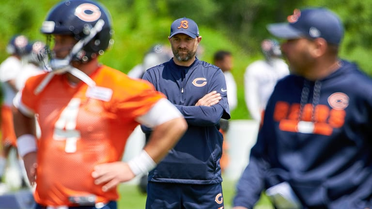 """What's the Next Thing?"" Matt Nagy, Bears Focused on Staying a Step Ahead"