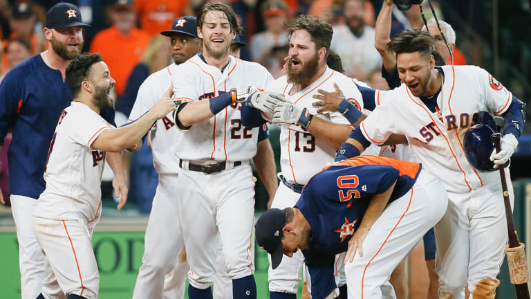 Traina Thoughts: Astros Players Come Through for Special Needs Child After Ugly Incident at Game