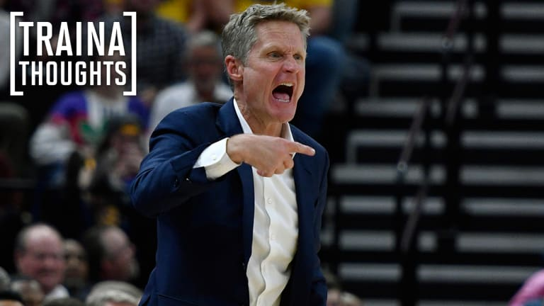 Traina Thoughts: The Answer to Question About Steve Kerr Being 'Disrespectful' Is Simple
