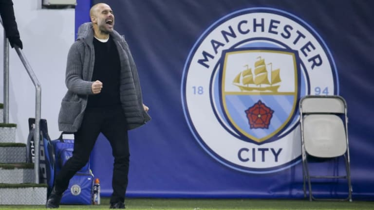 Pep Guardiola Delighted With His Side's 'Huge Personality' During Draw Against Lyon