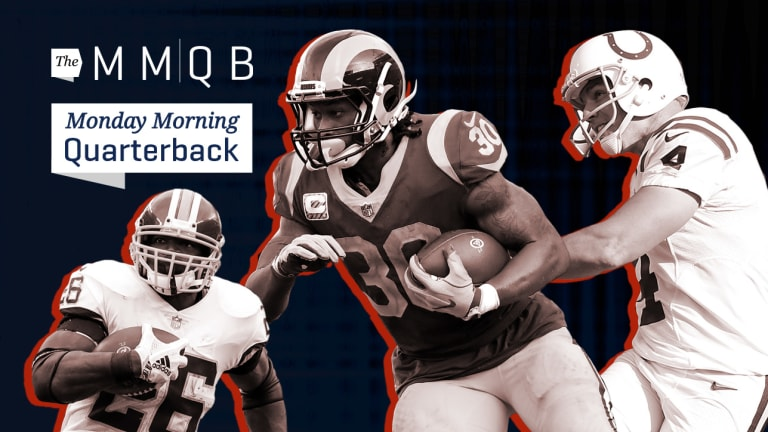 Redskins Rising, Rams Relentless, Vinatieri on Top: Week 8 in the NFL