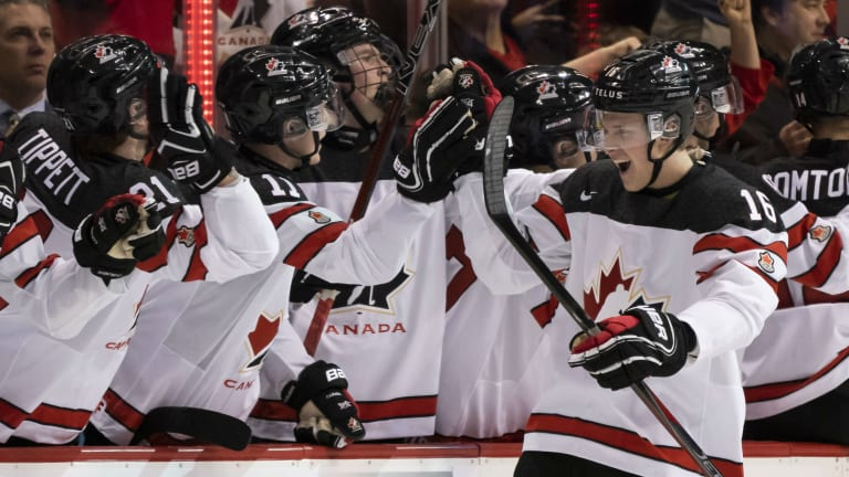 Canada Beats Switzerland 3-2 in World Junior Hockey