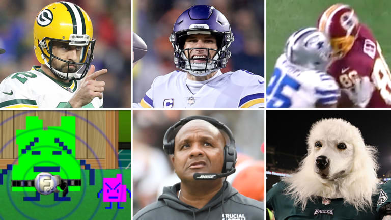 Mike McCarthy's Packers Still Have a Chance, the Problem With the Vikings' Offense, NFL Officiating Finds a New Low on Thanksgiving