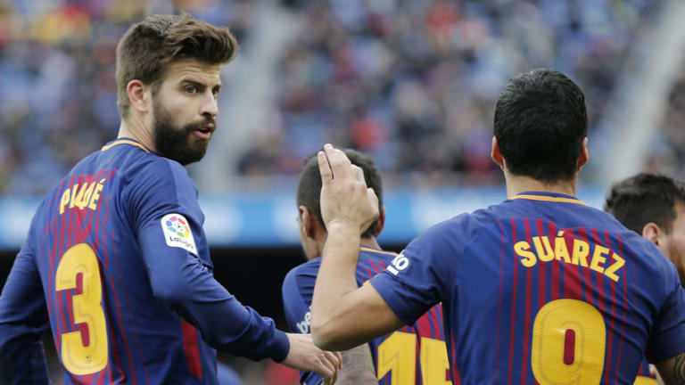 Luis Suarez Throws Support Behind 'Provocative' Pique & Insists He Didn't Influence Coutinho Move