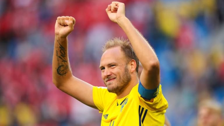 Sweden Captain Andreas Granqvist Warns England About Overconfidence Ahead of Quarter-Final Clash