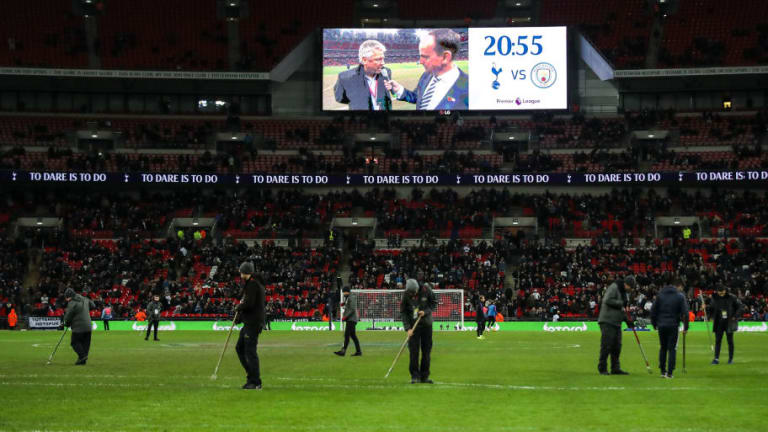 UEFA Concerned by Wembley Pitch Condition Ahead of Tottenham's Champions League Clash With PSV
