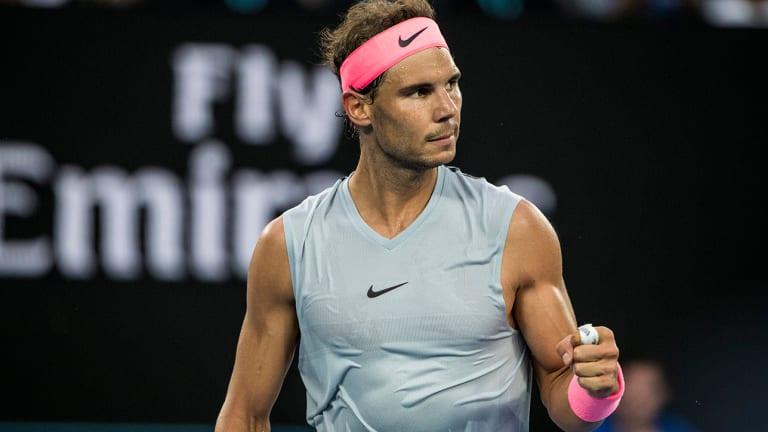 Rafael Nadal Cruises, Americans Struggle on Australian Open 2018 Day 1