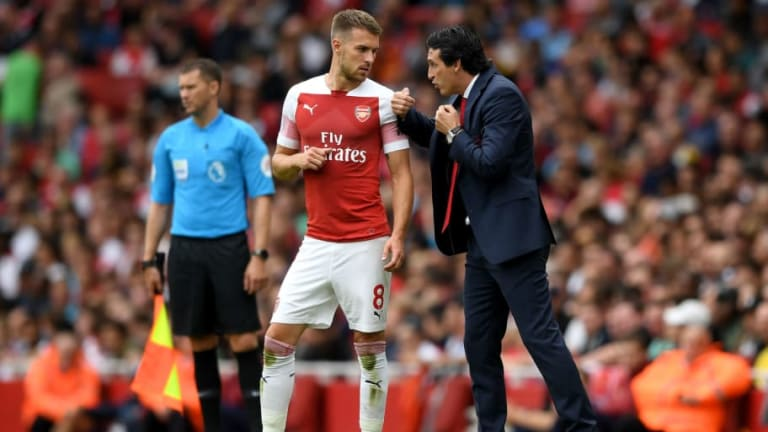 Arsenal Ace Aaron Ramsey Backs Side to Get 'Stronger & Stronger' Under New Boss Unai Emery