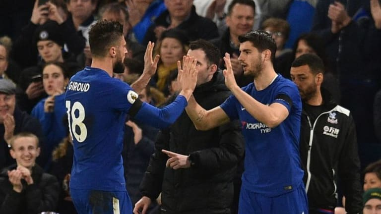Antonio Conte Doesn't See Competition With Giroud As Reason Behind Alvaro Morata's Improved Form