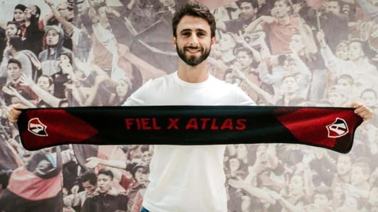 OFICIAL | Nicolás Pareja, nuevo jugador de Atlas