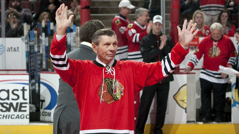 Blackhawks Hall of Famer Stan Mikita Dies at 78 After Battle With Lewy Body Dementia