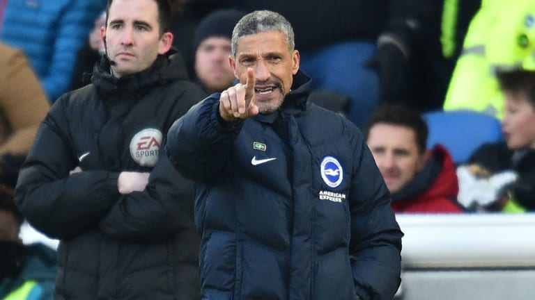 Chris Hughton Says Swansea Played Into Brighton's Hands After Seagulls Run Riot at AMEX