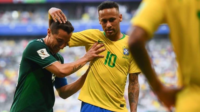 KARMA | El tremendo palo de Andrés Guardado a Neymar tras la eliminación de Brasil