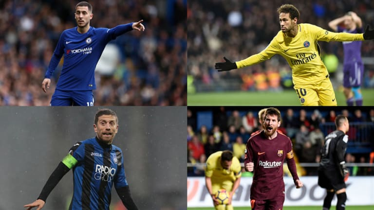 Los 100 mejores regateadores de la temporada en Europa