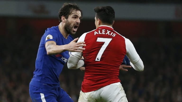 Alexis Sanchez & Cesc Fabregas Rise Above Club Rivalries to Share a Touching Moment on the Pitch