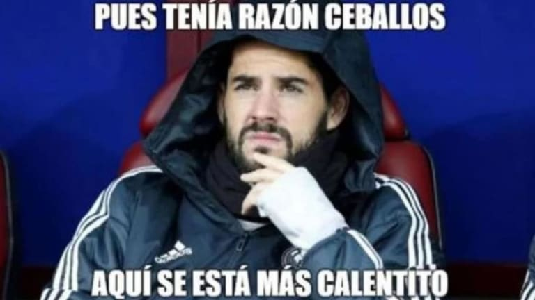 Los mejores 'memes' del castigo a Isco, la victoria de Ronaldo y compañía ante el Valencia y más