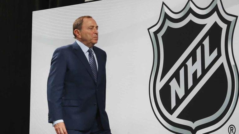 NHL Commissioner Gary Bettman Says League Wants Cut of Gambling Action