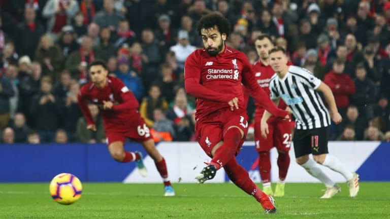 Phil Neville Gives Damning Verdict on Mohamed Salah's Controversial Penalty Against Newcastle