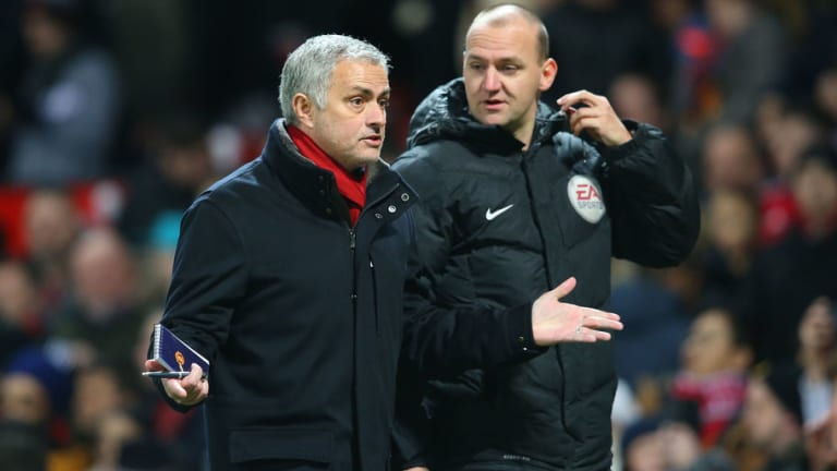 Big Refereeing Decisions Leave Mourinho Feeling 'Unlucky' Ahead of Goodison Park Visit