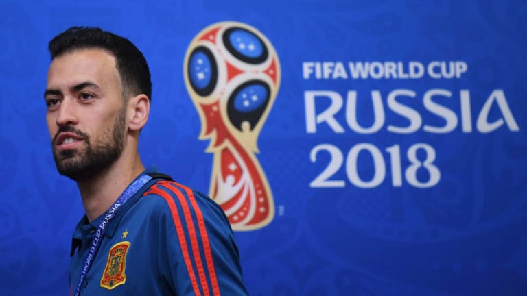 Sergio Busquets Names His Ideal Midfield Partner in the Spanish World Cup Setup