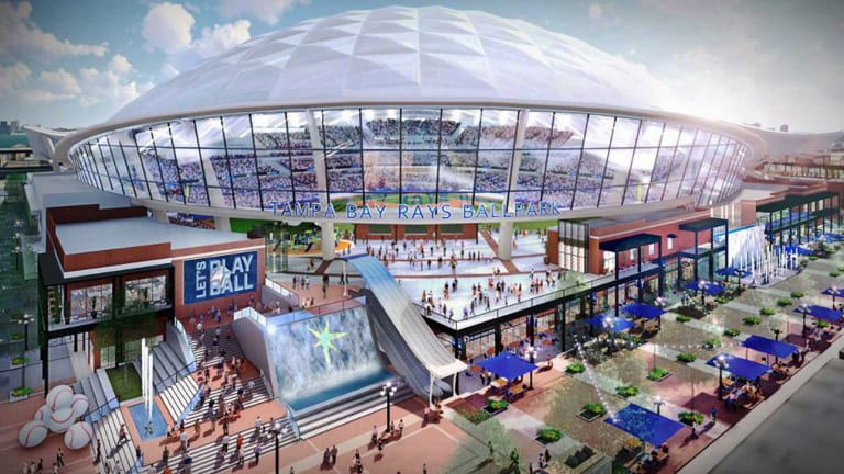 The Rays' Proposed New Stadium Looks Beautiful, But Who Is Going to Pay for It?