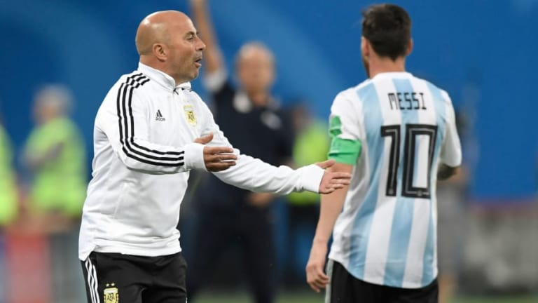 Argentina Boss Asks Lionel Messi About Substitution Minutes Before Attacking Change