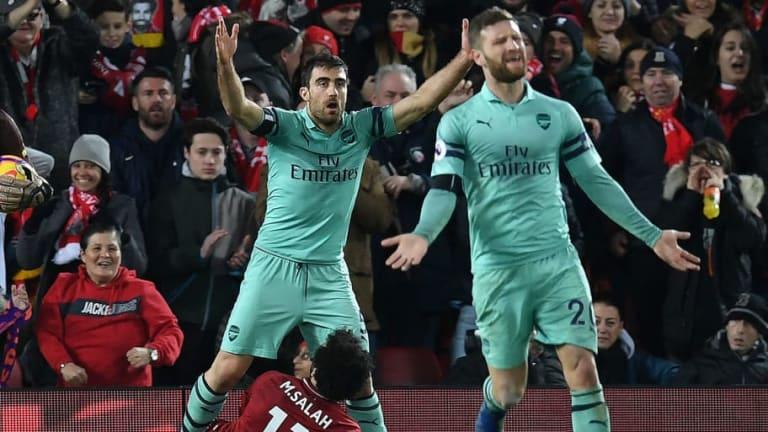 Virgil Van Dijk Claims Arsenal's Sokratis Sparked Tunnel Brawl With 'Diver' Jibe at Salah