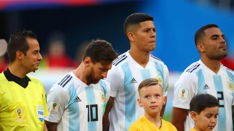 Marcos Rojo Reveals How Lionel Messi's Half-Time Team Talk Galvanised His Side Against Nigeria