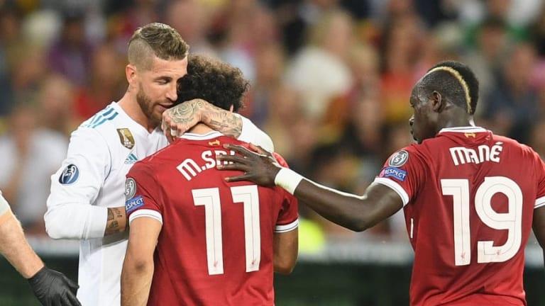 El mensaje de Sergio Ramos a Mohamed Salah tras lesionarle en la final