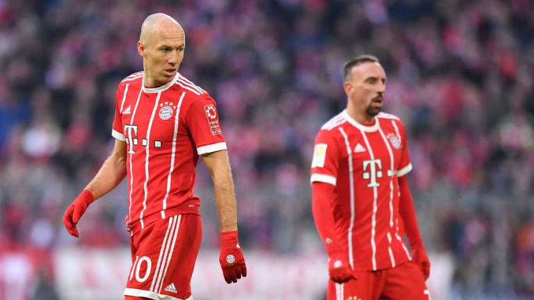 Bayern Munich Set to Begin Negotiations With Arjen Robben & Franck Ribery Over New Contracts