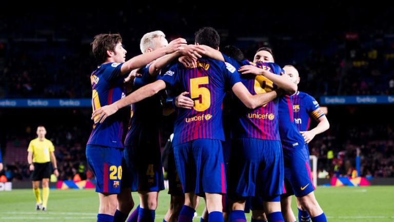 El espectacular récord del Barça en casa en Copa del Rey