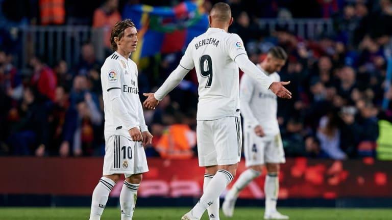 La última vez que el Real Madrid perdió 4 encuentros seguidos fuera del Bernabéu