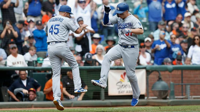 Dodgers Clinch Playoff Berth With Win Over Giants, NL West Still Up for Grabs