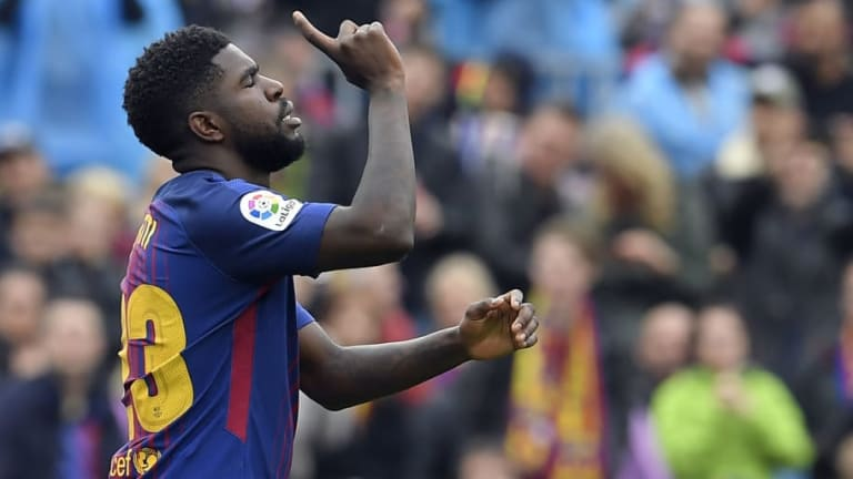 Samuel Umtiti Insists Barcelona Have to 'Kick Me Out' Before He Considers Man Utd Switch