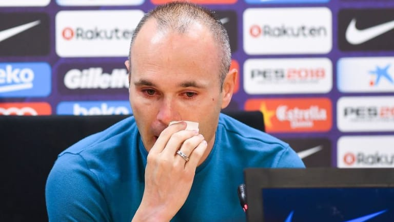 Twitter Reacts to News of Andres Iniesta's Decision to Quit Barcelona at End of the Season