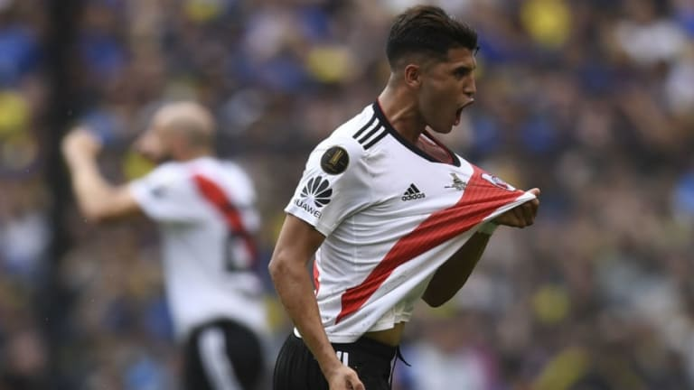 Real Madrid to Tie Up Palacios Deal by 'End of Next Week' Despite Resistance From River Plate