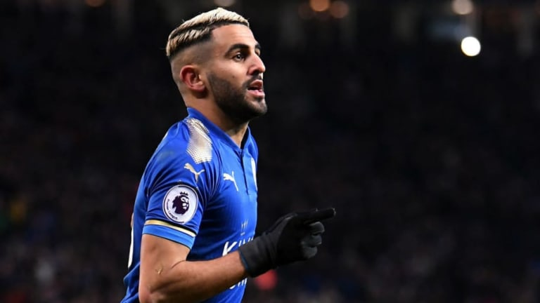 Man City Tipped to Complete Long Awaited Club Record Signing of Riyad Mahrez 'This Week'