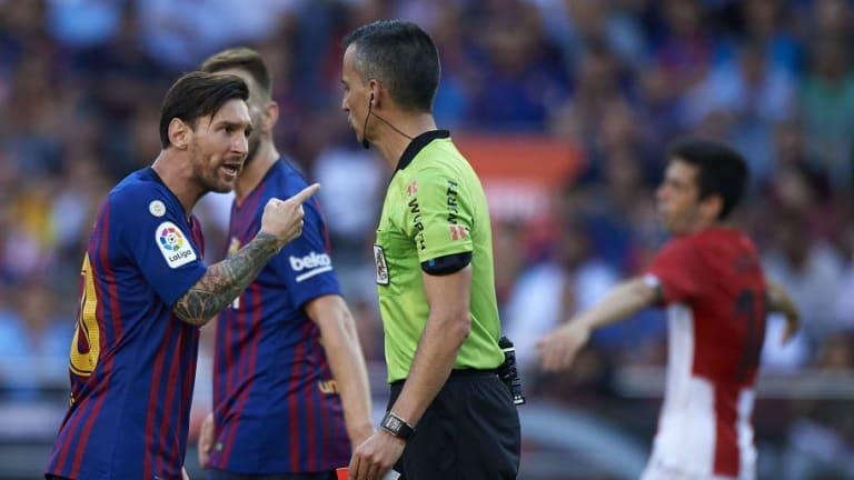 REVELADO   Las palabras de Messi al árbitro al final del partido por las que fue amonestado