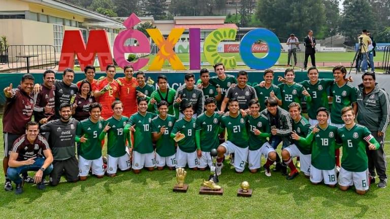 ¡CAMPEONES!   México sub 17 se coronó en el Torneo Cuatro Naciones