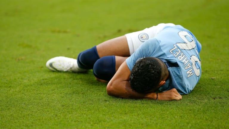 Pep Guardiola Admits He Is 'Concerned' as Man City Await Riyad Mahrez Injury Update