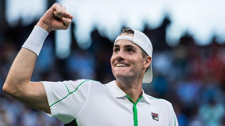 John Isner Slips Past Milos Raonic, Earns Berth in U.S. Open Quarterfinals