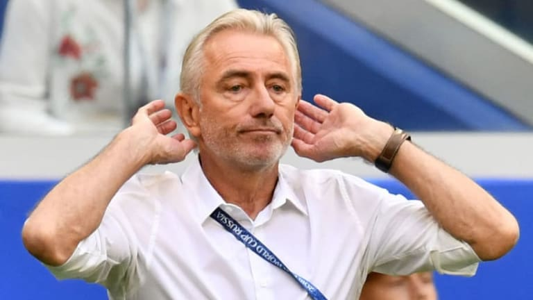 Bert van Marwijk Claims Denmark Were 'Afraid' of Socceroos During Group C Clash