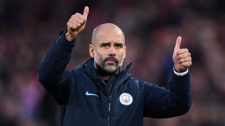 Pep Guardiola Praises 'Quite Special' Clean Sheet Following Draw Against Liverpool at Anfield