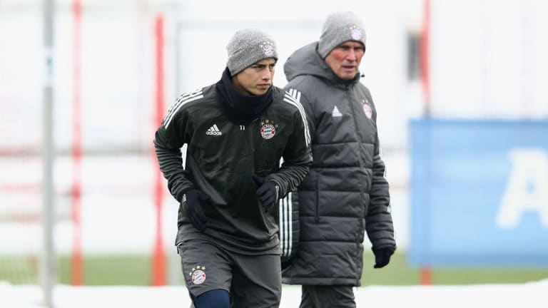 Jupp Heynckes Admits James Rodriguez Was 'a Little Depressed' Following Real Madrid Departure