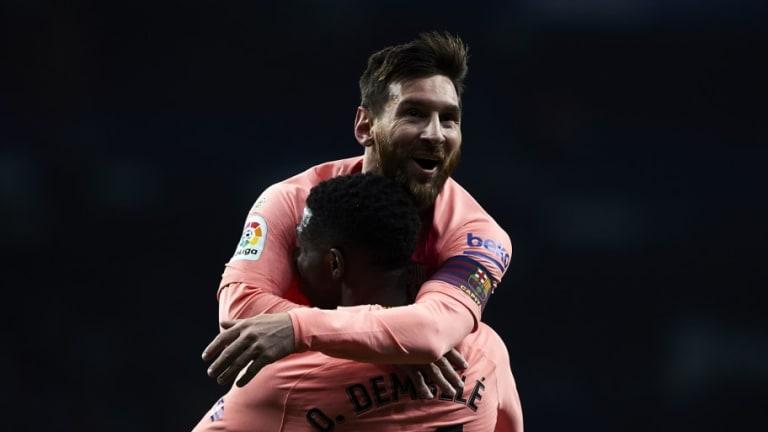 Lionel Messi Claims Barcelona Teammates Will Help 'Phenomenon' Ousmane Dembele Focus on Football