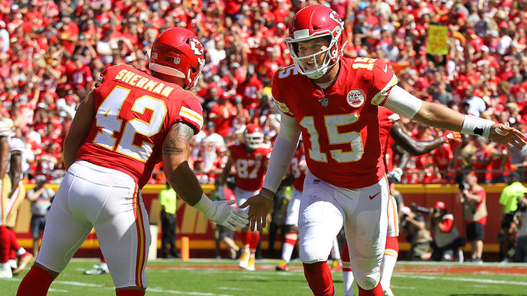 Another Week, Another Otherworldly Performance From Patrick Mahomes