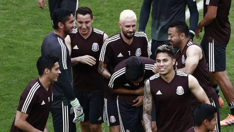 México vs Brasil    Alineaciones confirmadas