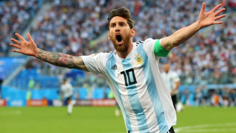 VIDEO: Lionel Messi Stuns Reporter With Incredible Heartwarming 'Good Luck Charm' Gesture